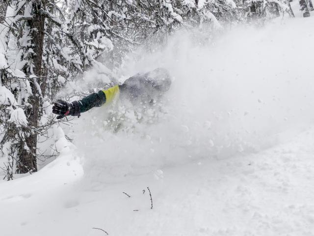 Ski poudreuse Serre Eyraud