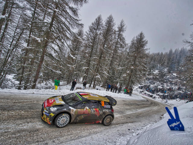 Rallye Monte Carlo dans le Champsaur