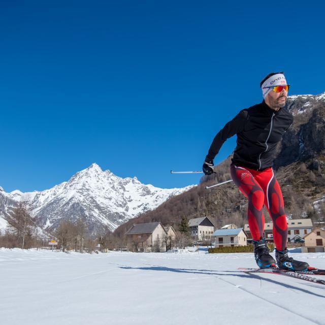 Ski de fond dans la vallée du Champsaur