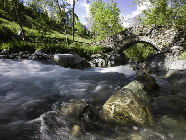 Pont des Oules du Diable, Valgaudemar