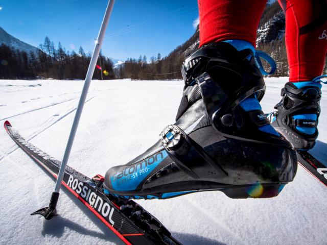Chaussure de ski de fond à champoléon Champsaur