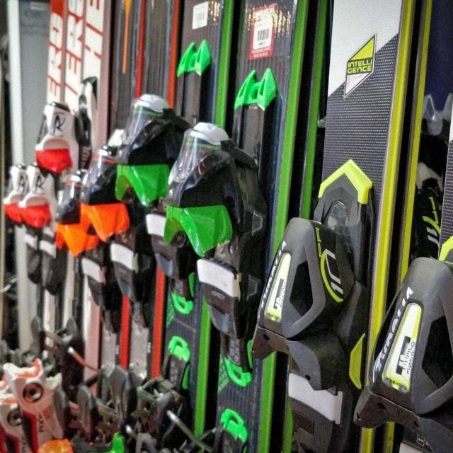 Skiset à la station de Chaillol