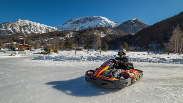 Karting Ice Racing (©g. Baron)