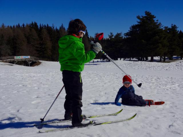 Jamais trop tôt pour commencer le ski de fond