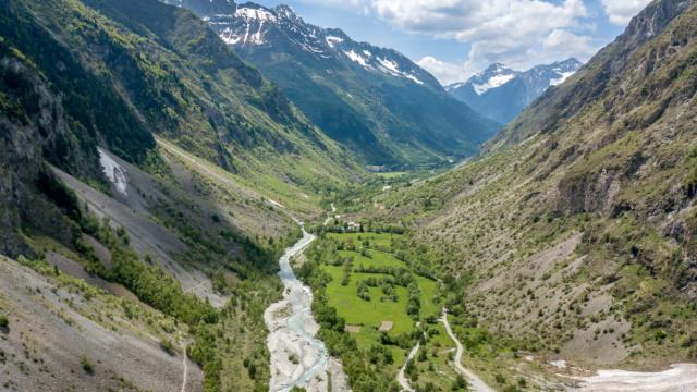 La vallée du Valgaudemar dans les Hautes Alpes