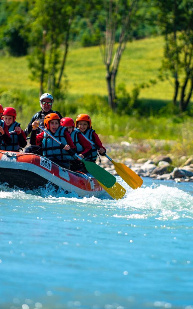 Rafting en Champsaur Valgaudemar