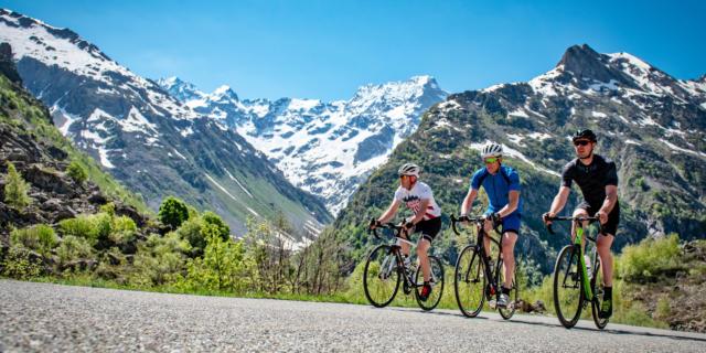 Vélo au col du Noyer En Champsaur 63