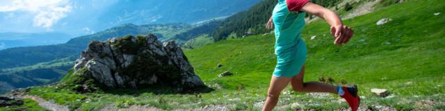 Trail en Champsaur en redescendant du palastre