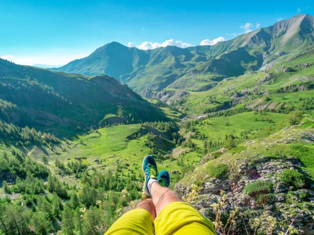 Randonnée dans la vallée de la Rouanne à Ancelle