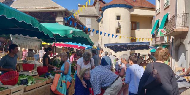 Marché d'été de Saint Bonnet en Champsaur