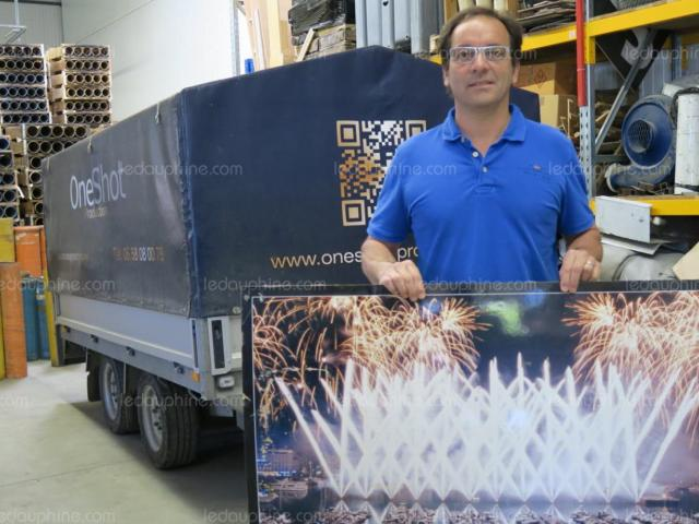 Michel Creissard Est Fier Des Feux D Artifice Que One Shot Production A Tires A Marseille 1508313090
