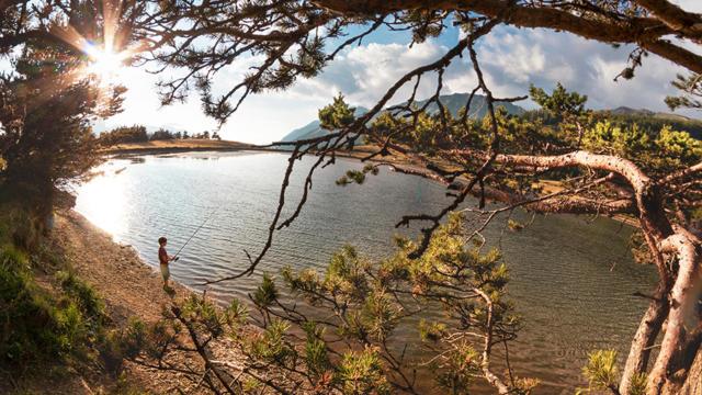 Randonnée au Canal de Malcros Champsaur Valgaudemar, lac, pêche