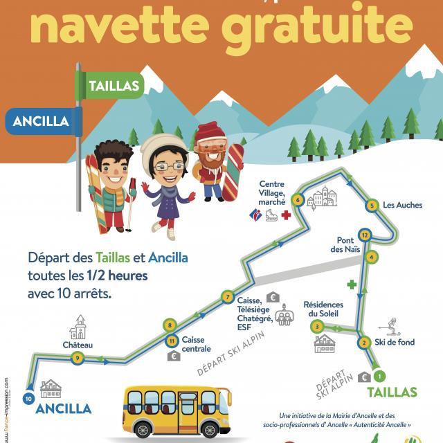 Affiche Navette